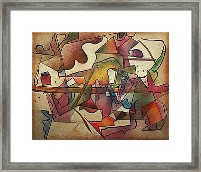 Hammer Time Framed Print by Dan Engh