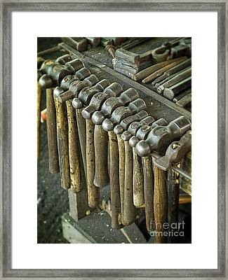 Hammer Time Framed Print by Edward Fielding