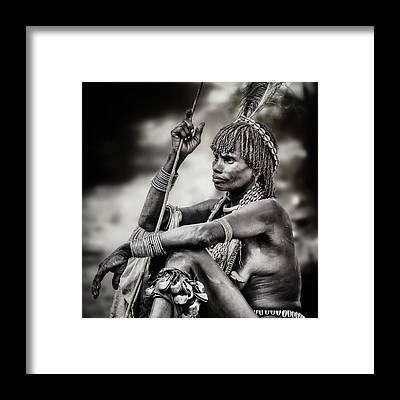 Indigenous People Framed Prints
