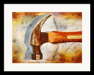 Hammer Paintings Framed Prints