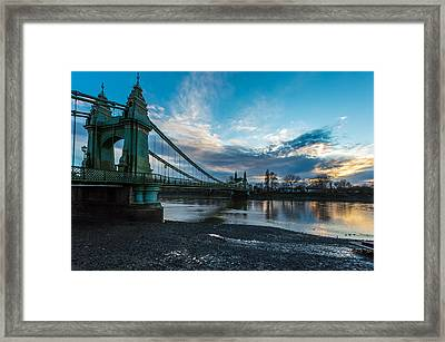 Hammersmith Bridge Framed Print