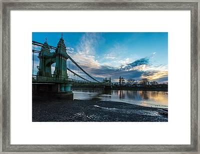 Hammersmith Bridge Framed Print