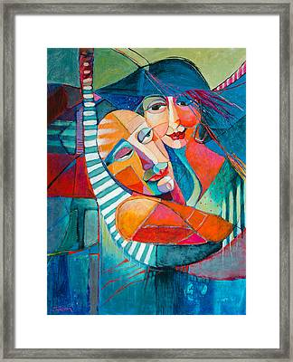 Hammock Dreams Framed Print by Jennifer Croom