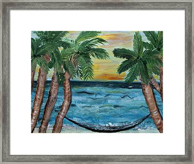 Hammock Dreams Framed Print