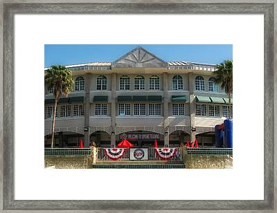 Hammond Stadium Framed Print