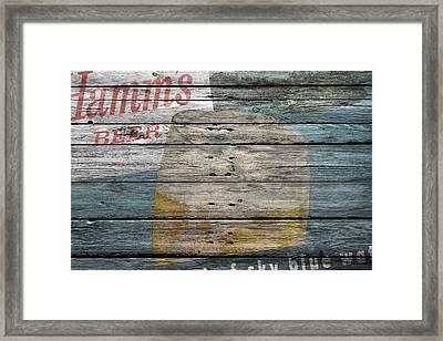 Hamms Beer Framed Print by Joe Hamilton