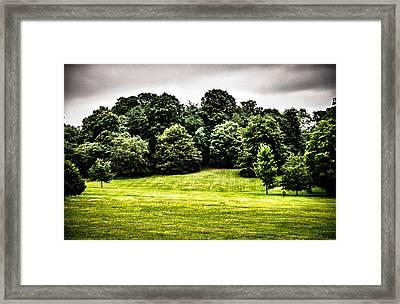 Hampstead Heath Greens Framed Print