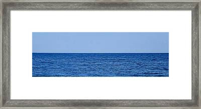 Hampton 50-50 Framed Print