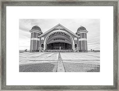 Hampton Beach Bandstand Stage Framed Print