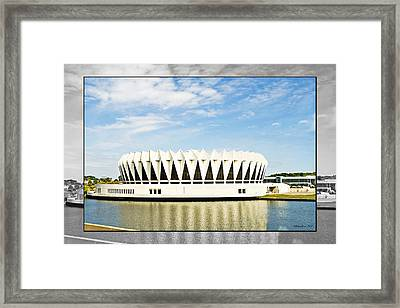 Hampton Coliseum Framed Print