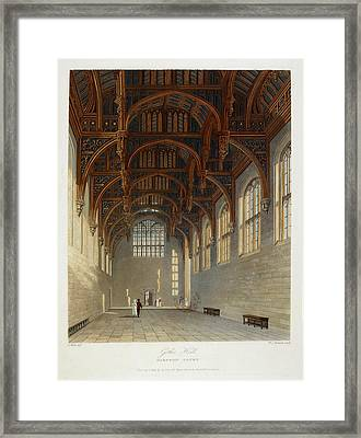Hampton Court Framed Print