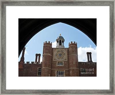 Hampton Court Palace Framed Print by Deborah Smolinske