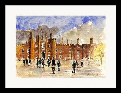 Hampton Court Framed Prints