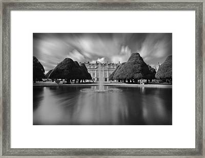Hampton Court Palace Framed Print by Maj Seda