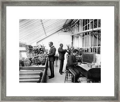 Hampton Institute, C1899 Framed Print by Granger