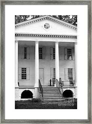 Hampton Plantation Framed Print by John Rizzuto