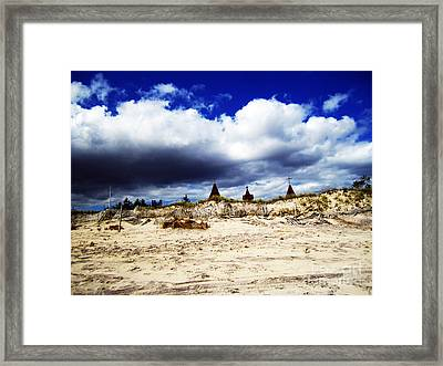 Hamptons Framed Print by Alison Tomich
