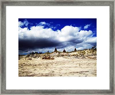 Hamptons Framed Print