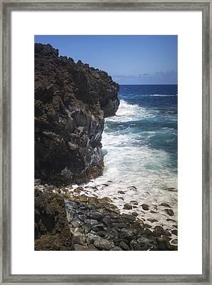 Hana Coastline 1 Framed Print