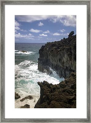 Hana Coastline 2 Framed Print
