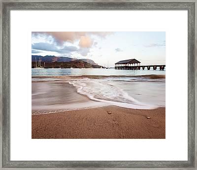 Hanalei Dawn - Kauai, Hawaii Framed Print