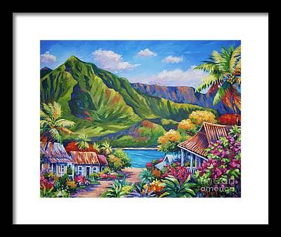 Hawaii Framed Prints
