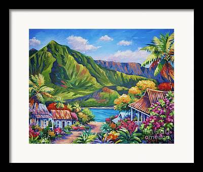 North Island Framed Prints