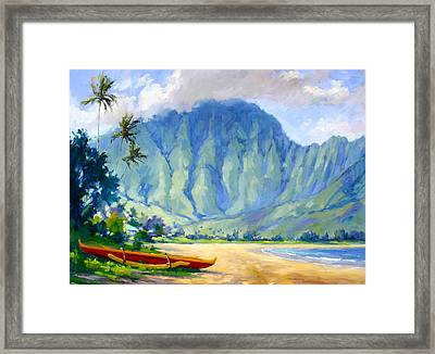 Hanalei Style Framed Print