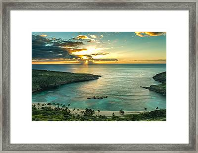 Hanauma Bay 1 Framed Print