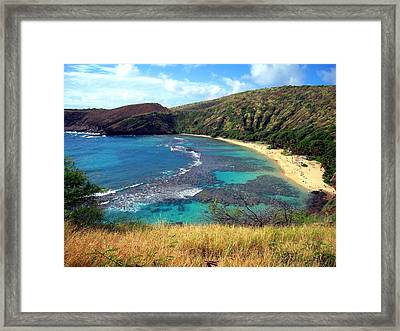 Hanauma Bay Framed Print