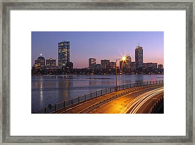 Hancock And Pru Framed Print by Juergen Roth