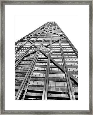 Hancock Framed Print by David Bearden