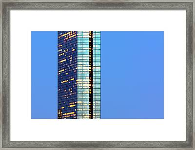 Hancock Place Framed Print by Babak Tafreshi