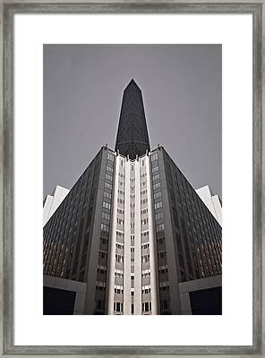 Hancock Revival Framed Print