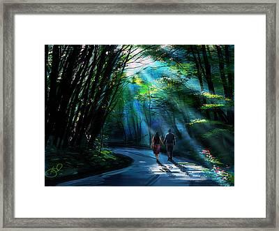 Hand In Hand Framed Print by Kiran Kumar