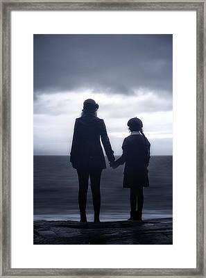 Hand In Hand Through Life Framed Print