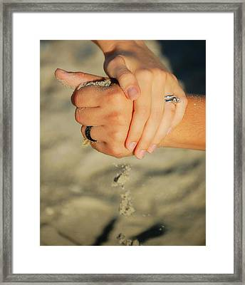 Hands Of Time Framed Print by Leticia Latocki