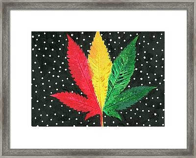 Hand Painted Illustration Framed Print by Stock Pot Images