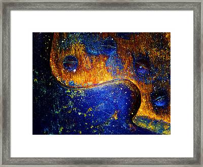 Hand Saw Framed Print