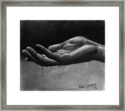 Hand Study #2 Framed Print
