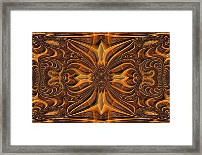 Hand-tooled Framed Print by Wendy J St Christopher
