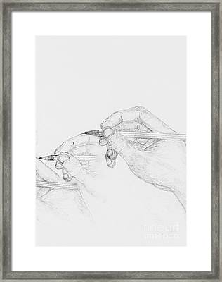 Handcrafted Framed Print by Philip G