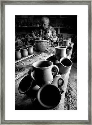 Framed Print featuring the photograph Handiwork by Okan YILMAZ