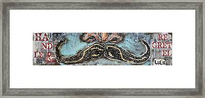 Handle And Regretel Framed Print by Lucy Matta - LuLu