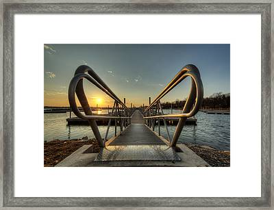 Handle On The Sun Framed Print
