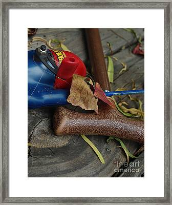 Handled With Care Framed Print