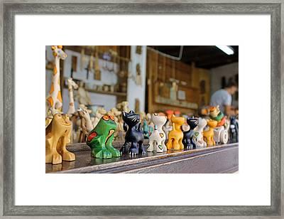 Handmade Toys Framed Print by Tony Murtagh