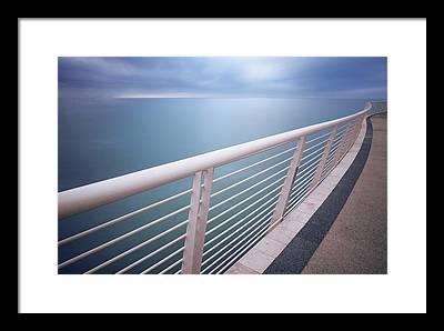 Handrail Framed Prints