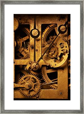 Hands Of Time Framed Print by Jon Emery