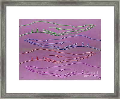 Hands Framed Print by Patrick J Murphy